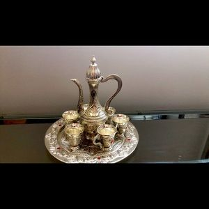Moroccan tea cups set